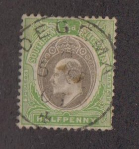 SOUTHERN NIGERIA Sc 21 - used  1/2d