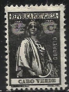 Cape Verde 1914 Scott# 145 MH