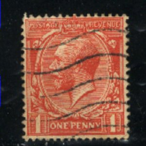Great Britain #160   used  1912-13 PD
