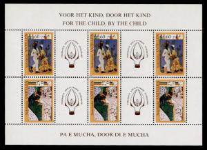 Netherlands Antilles B181a MNH Art, For the Child, By the Child, Dancers