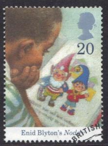 Great Britain 1997 used Enid Blyton  20p  #