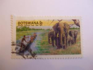 Botswana #498 used