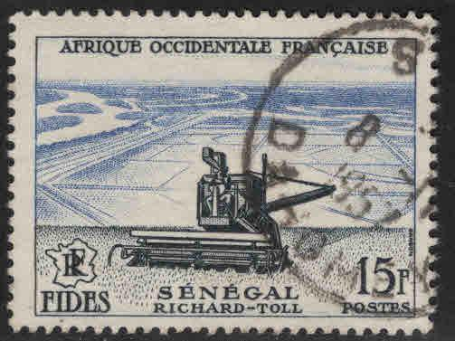FRENCH West Africa SCOTT 69 used stamp