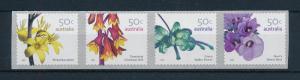 [74399] Australia 2007 Flora Flowers Blumen Self Adh. Coil Stamps Pemara MNH