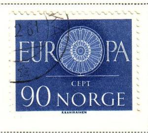 Norway Sc 387 1960 Europa stamp used