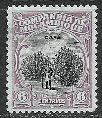 Mozambique Company ~ Scott # 122 ~  Used