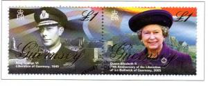 Guernsey Sc 866 2005 60th Anniversary Liberation  stamp used