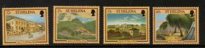ST.HELENA SG726/9 1996 NAPOLEONIC SITES MNH