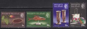 Pitcairn Islands, # 91-94, Island Crafts, Mint NH, Half Cat.