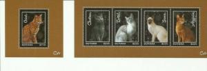 GUYANA 2013 CATS SCOTT 4274-5 MNH COMPLETE SET