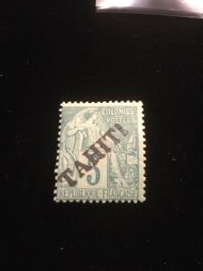 Tahiti Scott #8 Mint Hinged All Scarce Stamps!