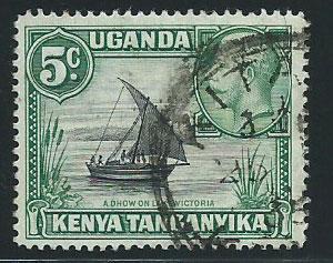 Kenya Uganda & Tanganyika SG 111 Used