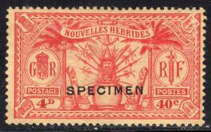 NEW HEBRIDES-FRENCH SCOTT 49