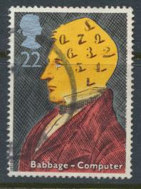 Great Britain SG 1547 -  Used  - Scientific Achievements