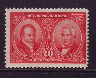 Canada Sc 148 1927 20 c Baldwin & Lafontaine stamp mint