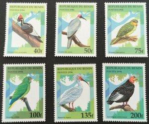Benin 1996 #890-5 MNH. Birds