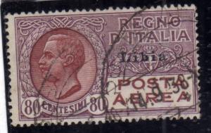 LIBIA 1928 - 1929 POSTA AEREA AIR MAIL SOPRASTAMPATO D'ITALIA ITALY OVERPRINT...