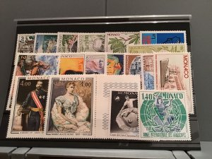 Monaco  1970's mint never hinged  stamps   R23977