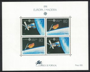 Madeira Europa CEPT Europe in Space MS SG#MS279