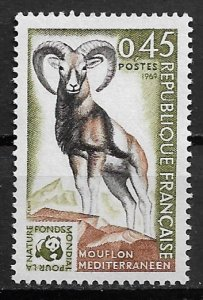 1969 France 1257 Wildlife Protection MNH