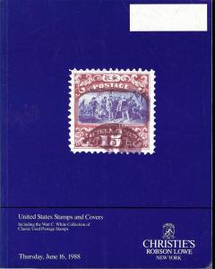 United States Stamps and Covers: Including the Watt C. Wh...