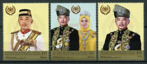 Malaysia Stamps 2019 MNH Sultan Abdullah of Pahang Royalty People 3v Set