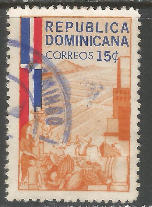 DOMINICAN REPUBLIC 569 VFU R392-2