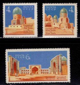 Russia Scott 2808-2810 MNH** set