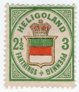 (I.B) Heligoland Postal : Definitive 3pf