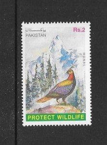 BIRDS - PAKISTAN #879  MNH
