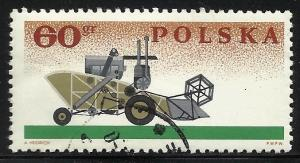 Poland 1966 Scott# 1391 Used