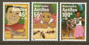 Netherlands Antilles #B209-11 NH Youth Stamps