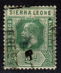 Sierra Leone #103 F-VF Used CV $3.50 (X5073)