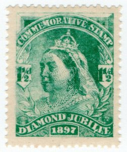 (I.B) QV Cinderella : Unofficial Diamond Jubilee Issue 1½d (1897)