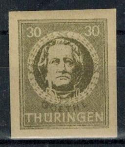 Germany - Russian Zone - Thuringia - Scott 16N8a MH