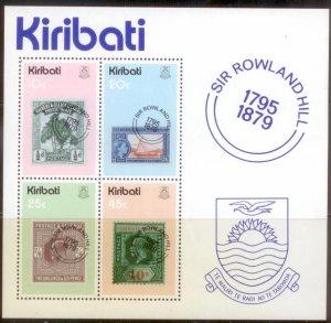 Kiribati 1979  SC# 341-4a S/S MNH L189