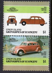 St Vincent Grenadines Union Island 175 Cars MNH VF