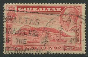 Gibraltar #96  KGV  Used  Scott CV. $4.00.