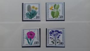 Gernany 1980 Charity Stamps - Flowers & Plants Mint