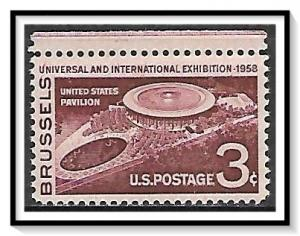 US #1104 Brussels Exposition MNH