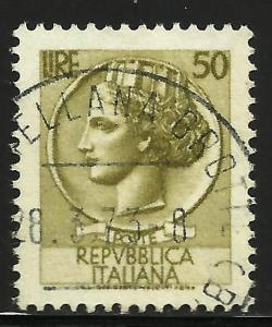 Italy 1958 Scott# 683 Used (star wmk)