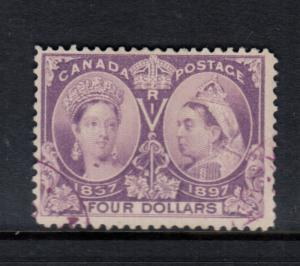 Canada #64 Used Fine With Neat Magenta Cancel **With Certificate**