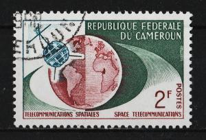Cameroon 1963 1st TV connection from US to Europe 2F (1/4) USED