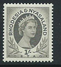 Rhodesia & Nyasaland SG 9  MUH