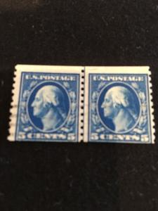 447 Used Guide Line Pair. PFC Catalog $950.00 Very Scarce.