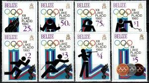 Belize #461-8  MNH CV $16.85  (X1216)