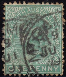 South Australia - 1895 - Scott #105 - used - Queen Victoria