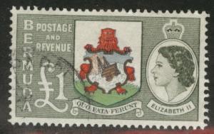 BERMUDA Scott 162 QE2 1953 key 1