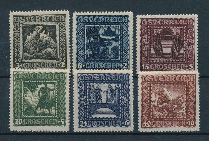 [98591] Austria Österreich 1926 Child Welfare Format 27.5x28.5 MNH