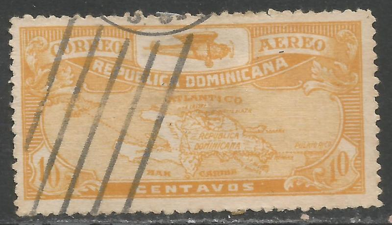 DOMINICAN REPUBLIC C2 VFU O728